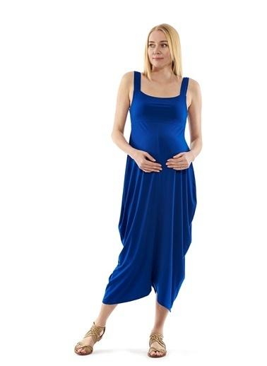 Motherway Maternity Elbise İndigo